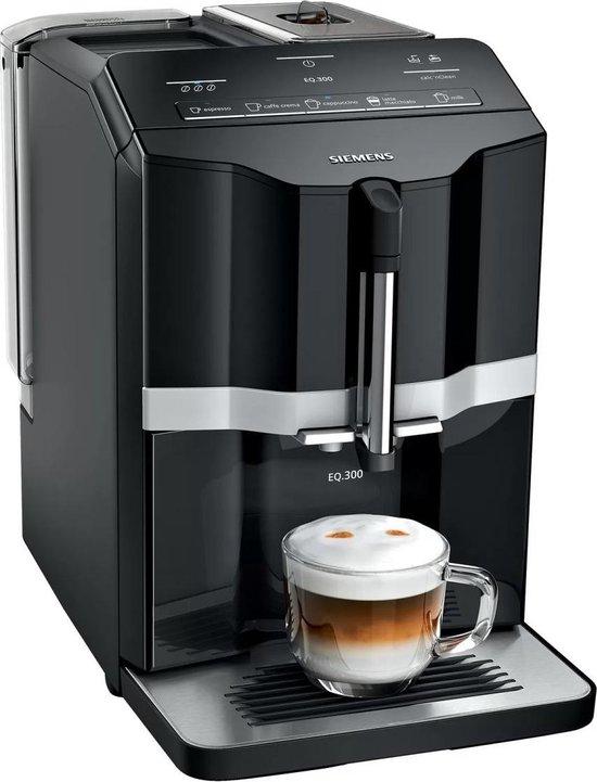 Siemens EQ300 TI351209RW - Espressomachine - Zwart/Zilver