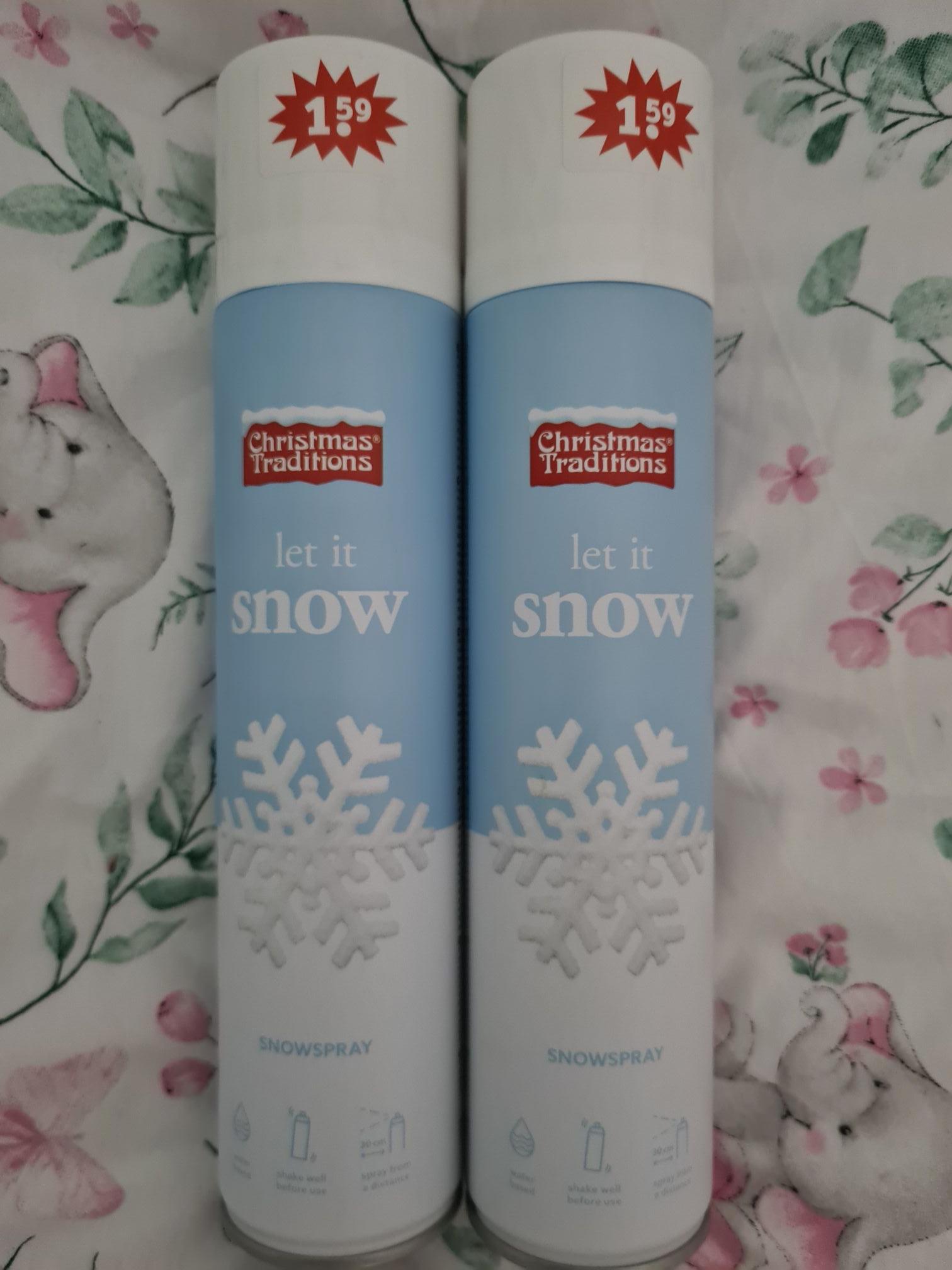 Kruidvat Sneeuwspray