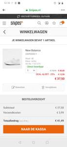 New balance White 37,50 bij Snipes