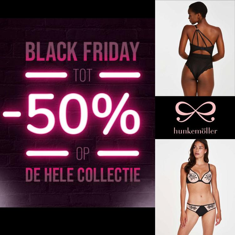 Black Friday sale tot 50% korting @ Hunkemöller