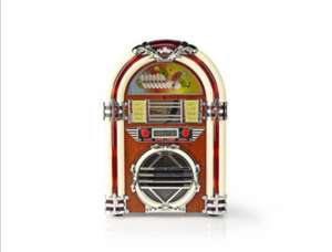 NEDIS TAFELRADIOJUKEBOX FM/AM-RADIO CD 3W RDJB3000BN