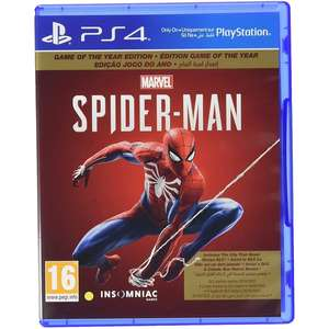 Spider-Man Game Of The Year Edition (PS4)
