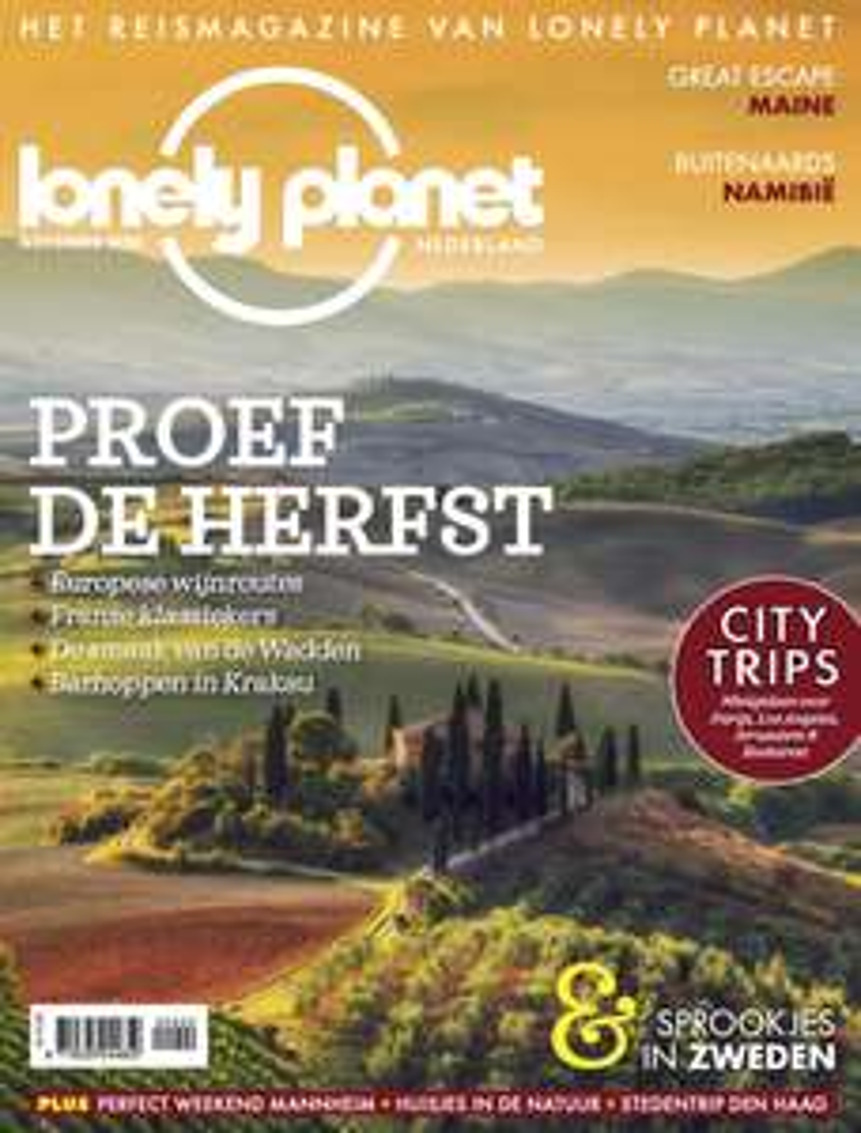 6x Lonely Planet magazine voor €20