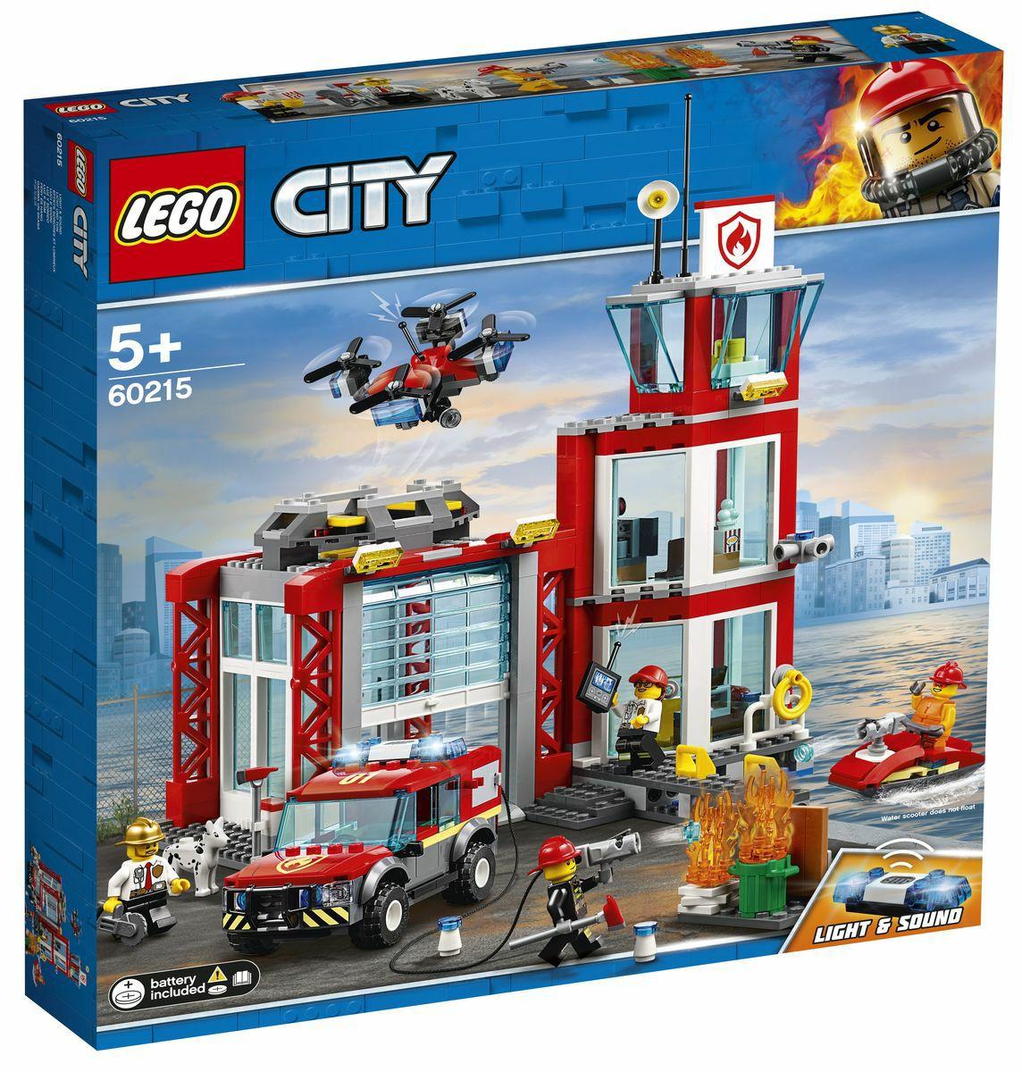 Lego brandweerkazerne (Toychamp) alleen afhalen in de winkel mogelijk