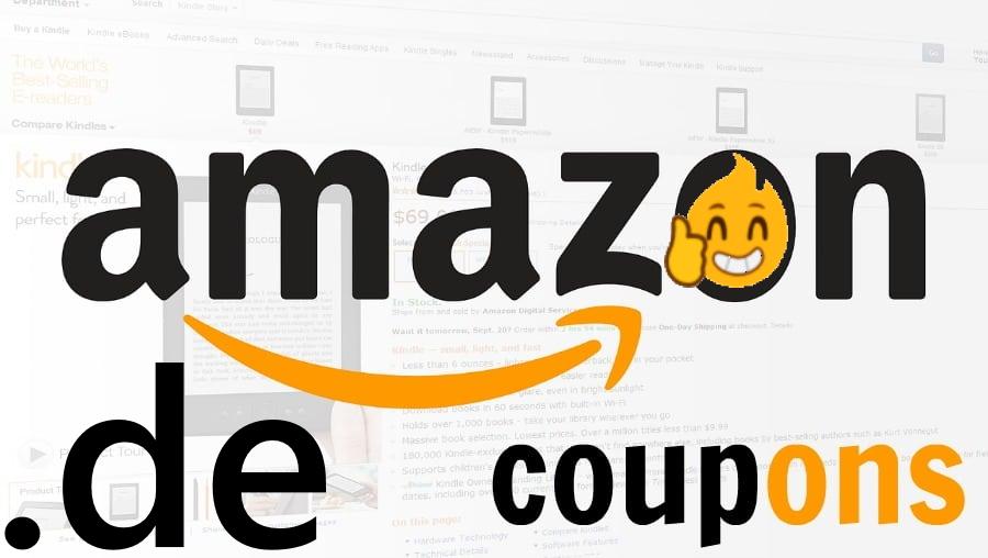 Extra korting met Amazon Coupons @ Amazon.de