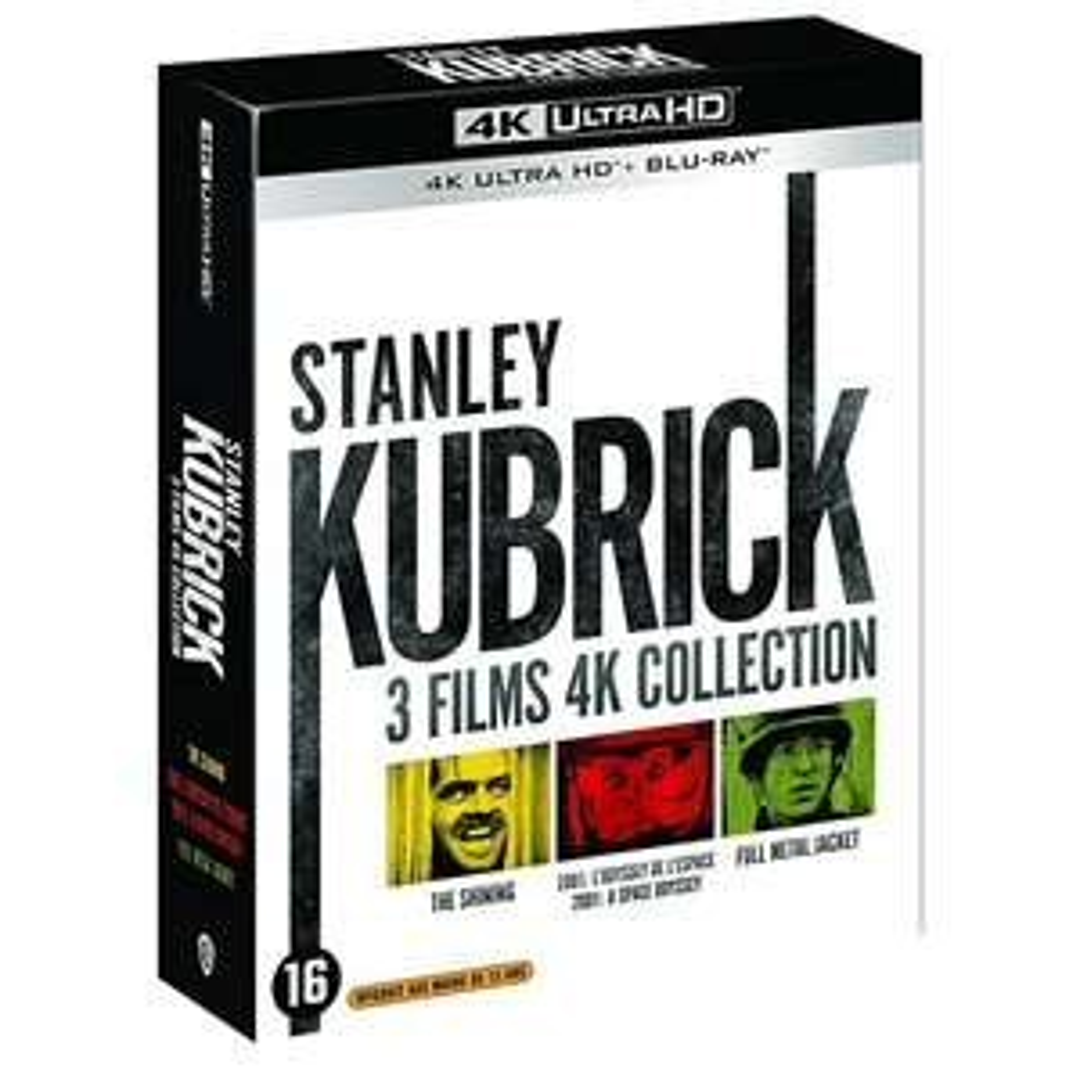Stanley Kubrick 4K Blu-Ray collectie