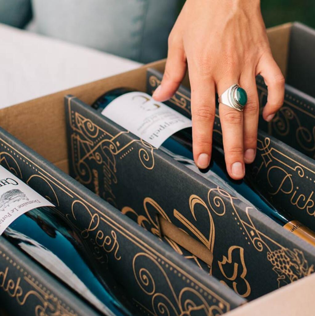 25% korting op je eerste Taste Club Wijn abonnement box.