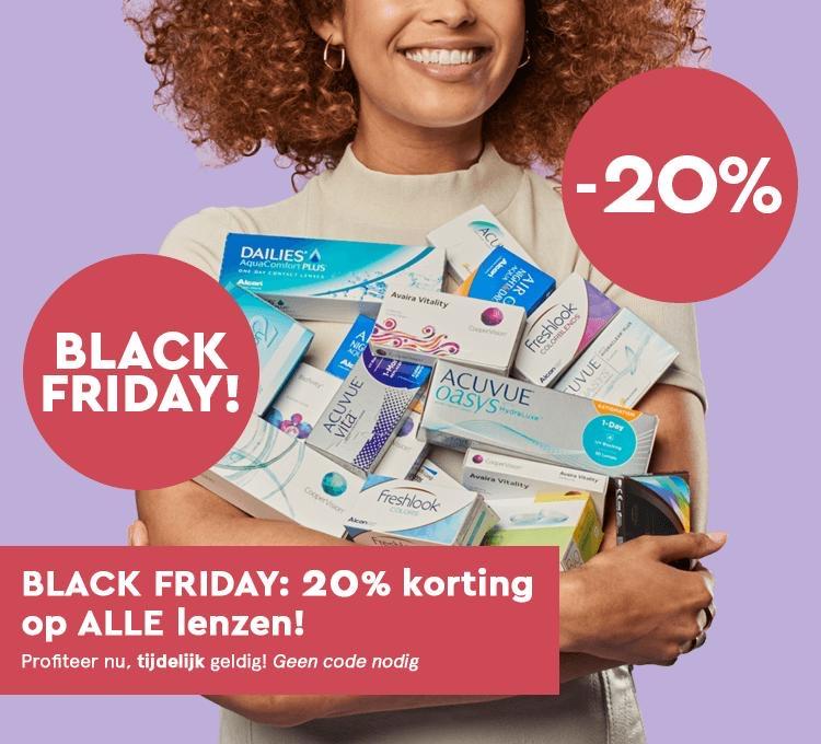 20% korting + 10% cashback op alle lenzen @ Sightful