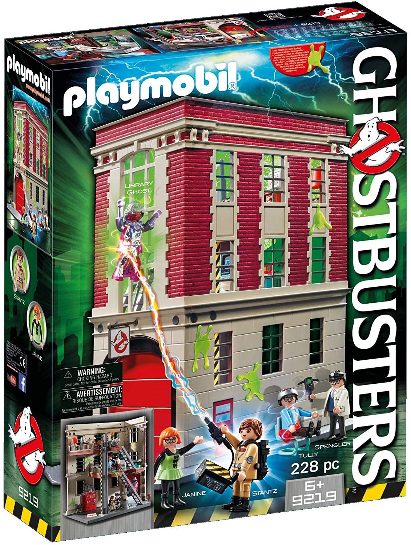 PLAYMOBIL Ghostbusters 9219 - Brandweerkazerne (Amazon.nl)