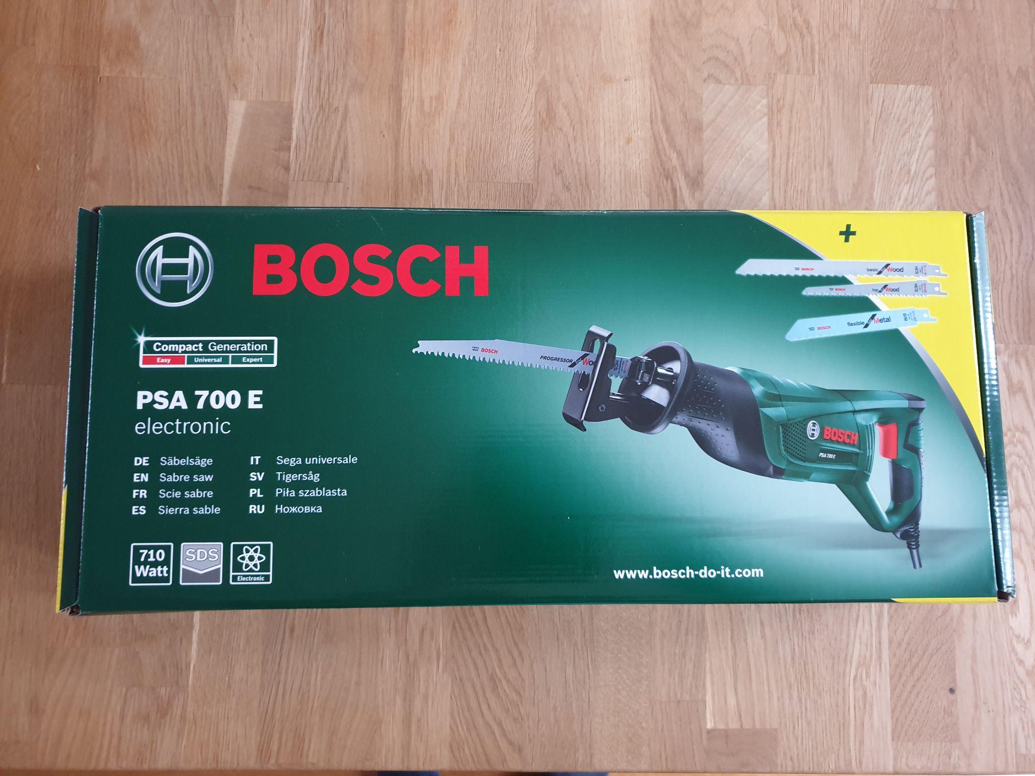 Bosch PSA700E met 3 GRATIS zaagbladen. Prijs € 60,75 na cashback bosch € 40,75