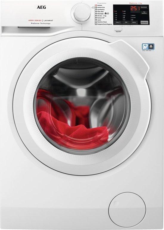 AEG ProSense L6FBN5761 wasmachine - Voorlader - 7 KG - 1600 TPM