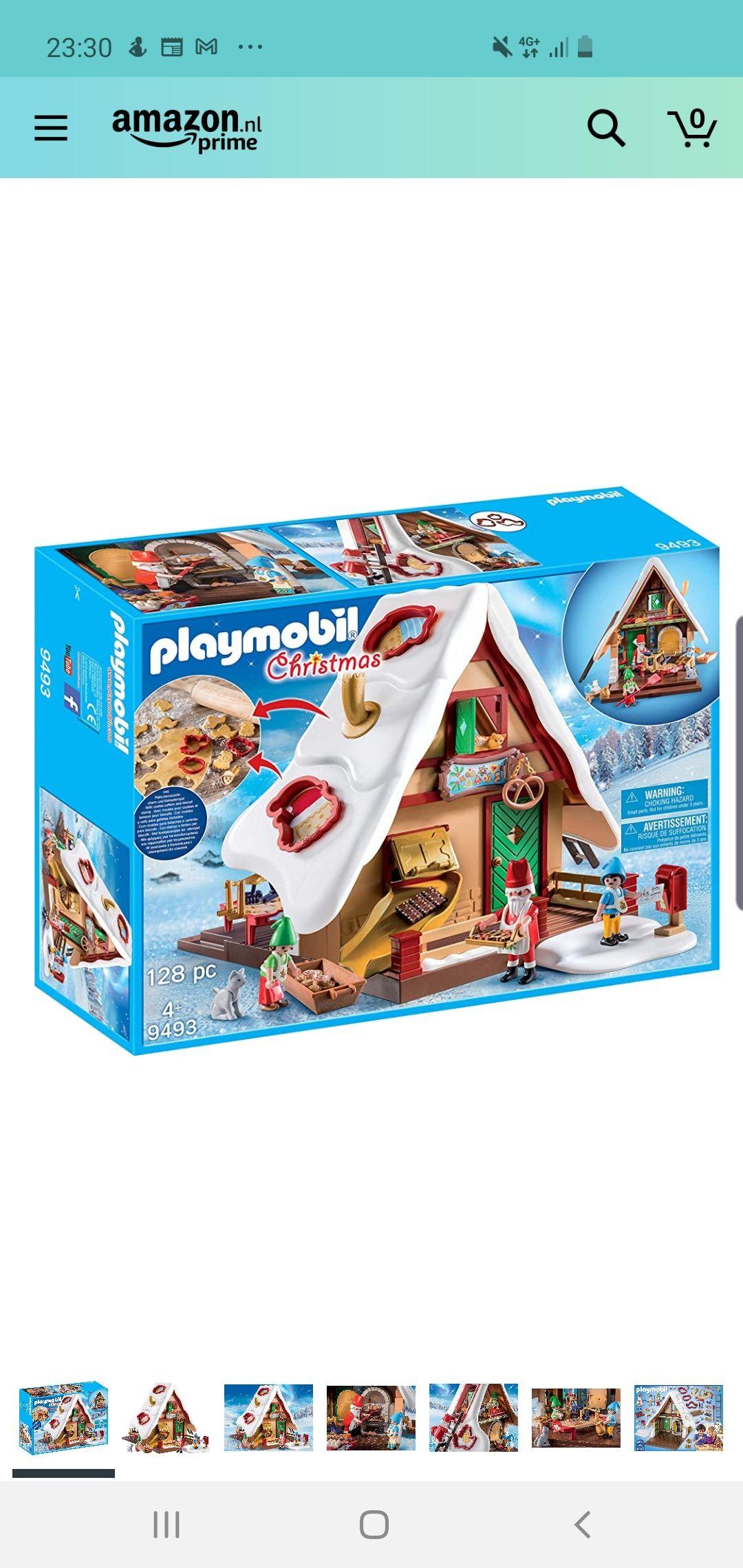 Playmobil 9493 Kerstbakker