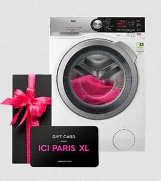 AEG L8FB86ES Wasmachine + €75 ICI Paris XL Gift Card