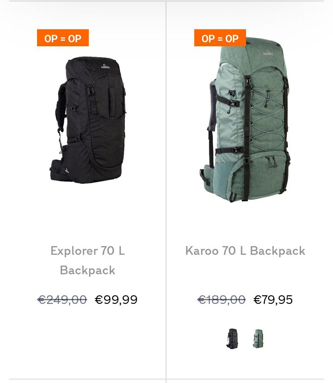 Nomad backpacks en dagrugzakken