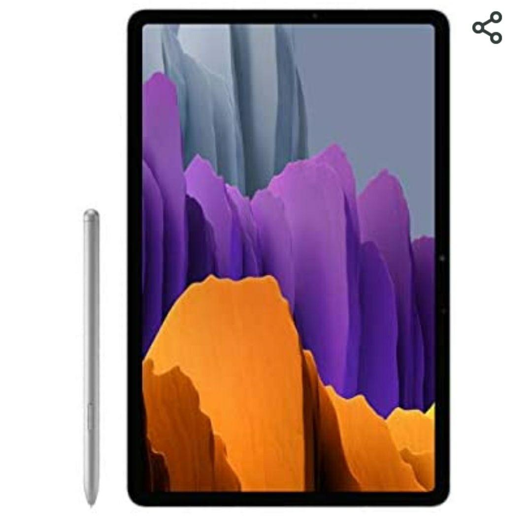 Samsung Galaxy Tab S7+ Wi-Fi, Mystic Silver of zwart -256 GB