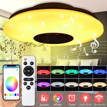 ARILUX 60W 102LED 6000LM plafondlamp - slimme, muziek