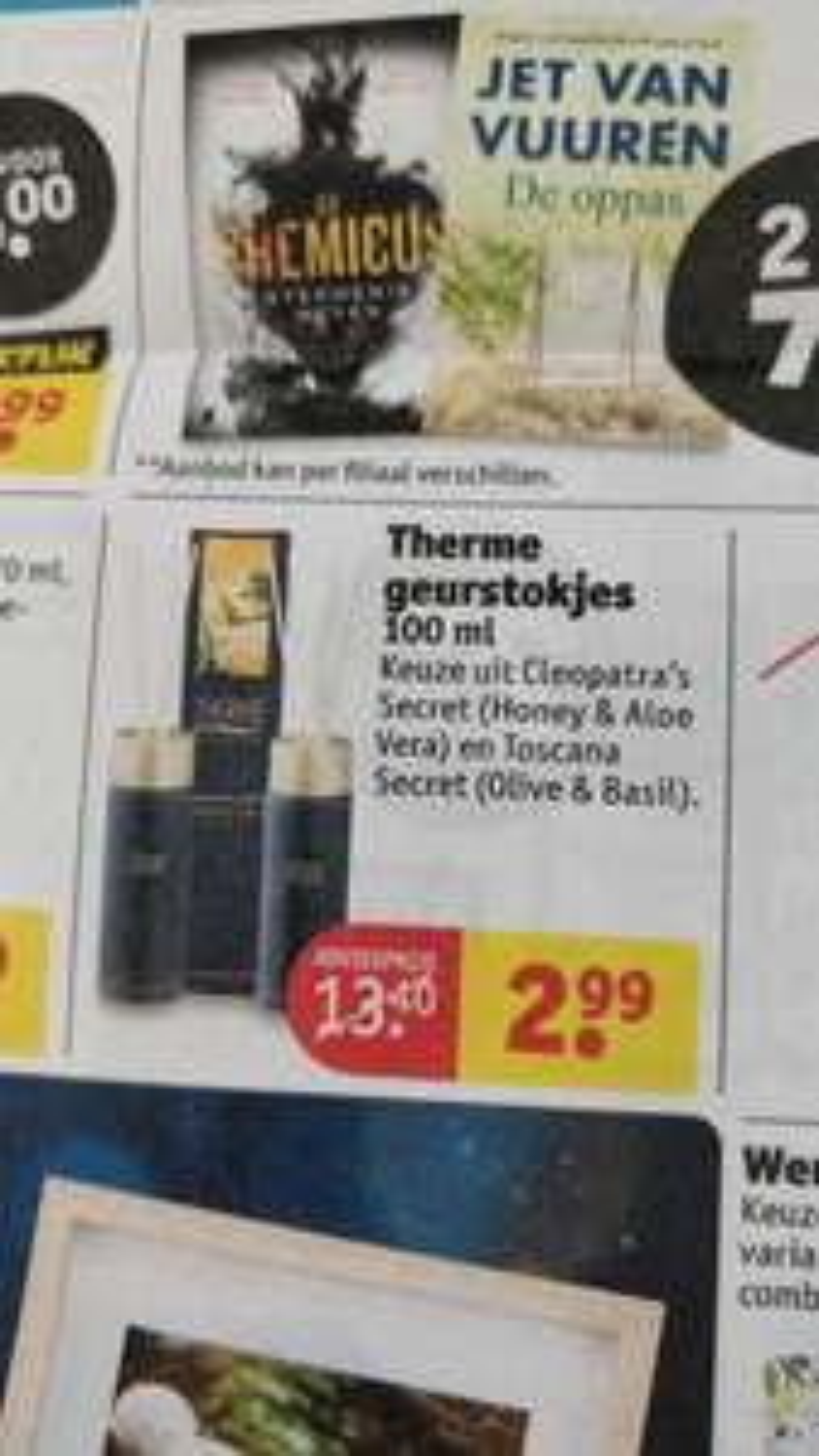 Therme geurstokjes €2,99 @Kruidvat