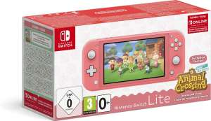 (Grensdeal) Nintendo Switch Lite + Animal Crossing + 3 maanden Nintendo Switch Online