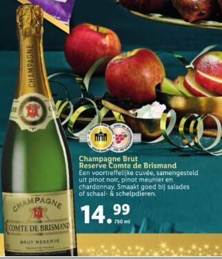 Champagne - Reserve Comte de Brismand - 750 ML @LIDL