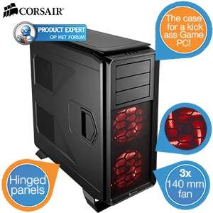 Corsair Graphite 730T PC-behuizing voor €78,90 @ iBOOD