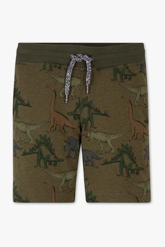 Dino shorts maten 92/98/104 voor €2,50 (was €9,99) @ C&A