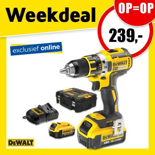 DeWalt DCD790M2-QW Boormachine @ Toolstation