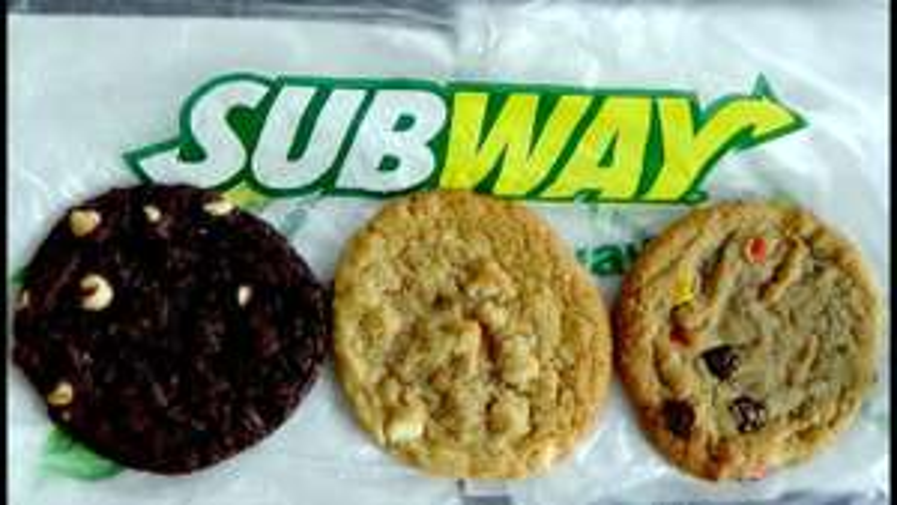 Gratis Subway Cookie