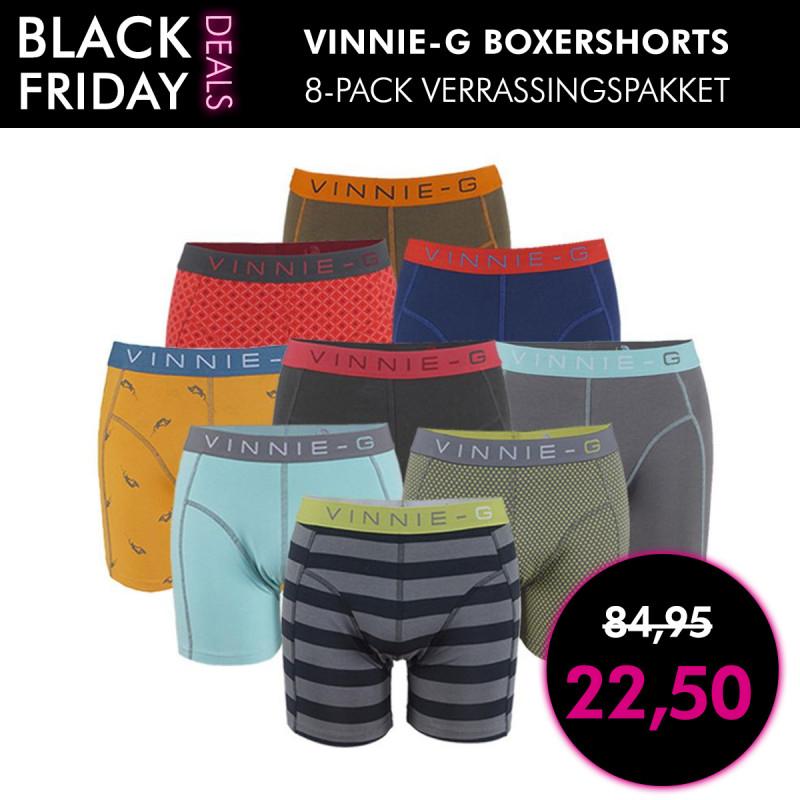 Vinnie-G Boxershort 8-pack verrassingspakket (@1dagactie.nl)