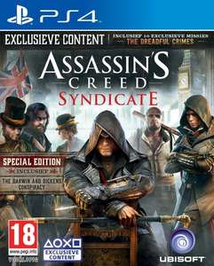 Assassin's Creed Syndicate Special Edition PS4 voor €29,99 @Free Record Shop