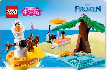 Gratis Olaf's Summertime Fun (30397) bij een min. besteding van €30 @ LEGO Shop