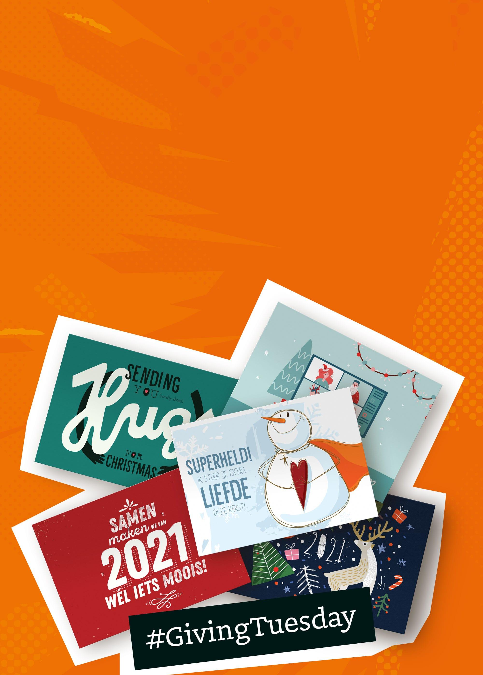 Gratis (kerst)kaartje sturen via Drukwerkdeal