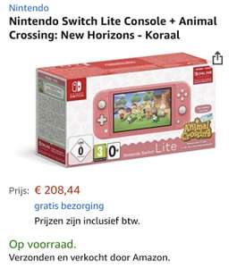 Nintendo Switch Lite console + Animal Crossing