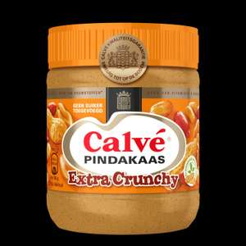 (XENOS) Calve Pindakaas Crunchy 350gr