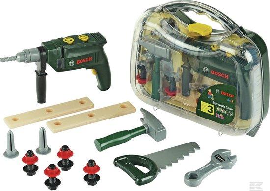 [Nu €18,89] Bosch speelgoed gereedschapskoffer met accessoires 'Professional Line' voor €20,49 @ bol.com