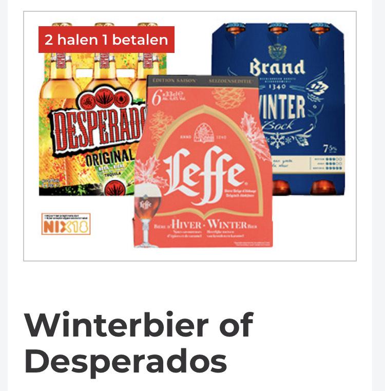 Leffe en Brand winterbier | 2 halen 1 betalen