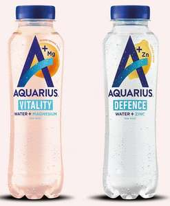 GRATIS Aquarius Water + (magnesium of zinc) fles 400 ml @ Scoupy