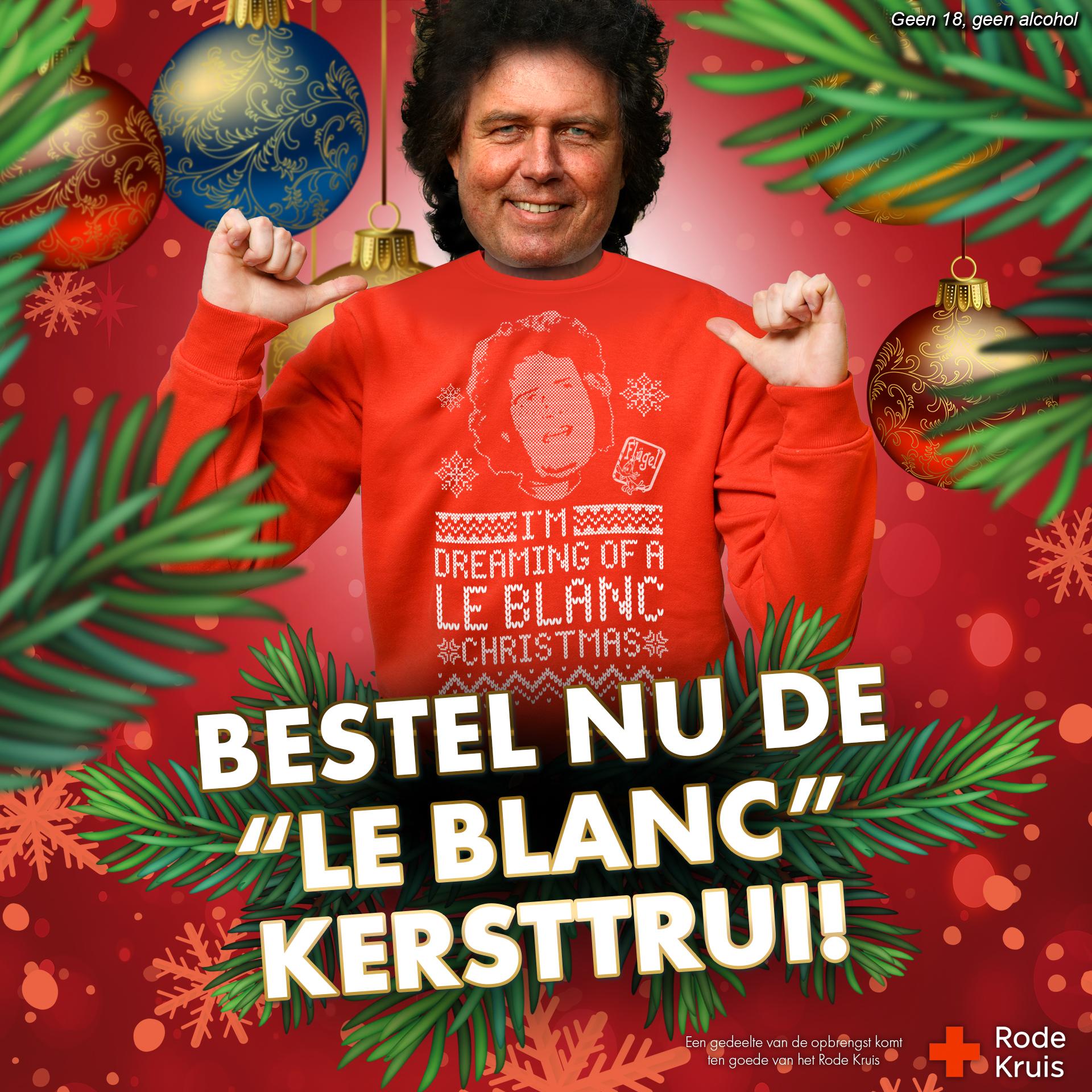 René LE BLANC Foute Kersttrui