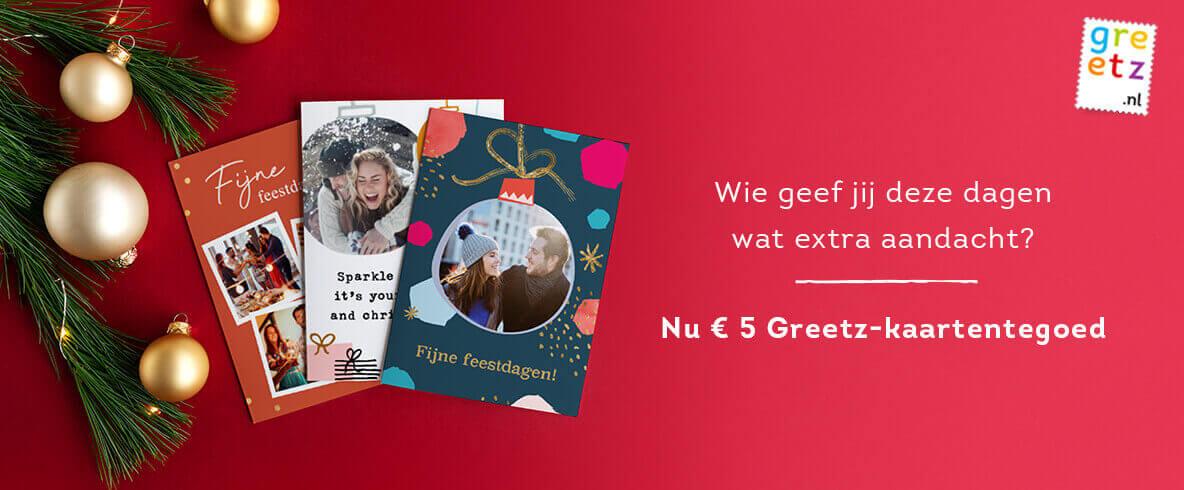 Gratis €5 Greetz tegoed voor klanten van Simpel (excl. postzegels)