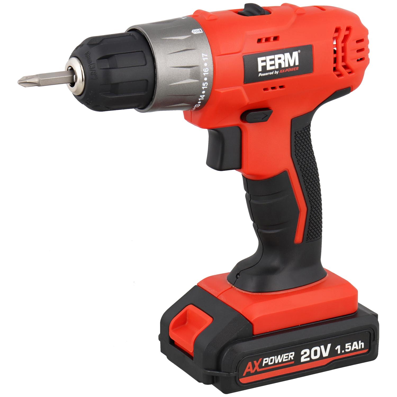 FERM accuboormachine | 20 volt | 1.5Ah | Nederlands Merk @Action
