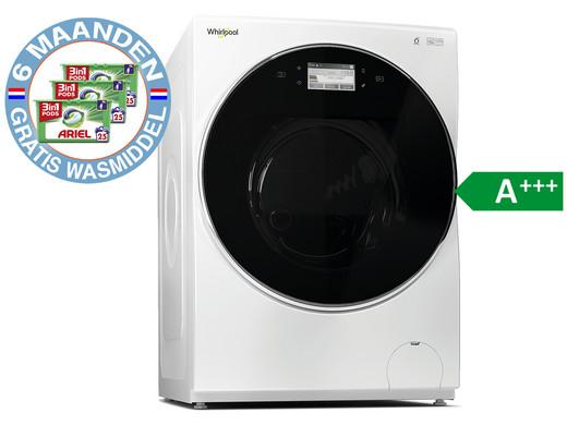 Whirlpool Wasmachine 12 kg FRR12451 met 6 maanden gratis Ariel pods.