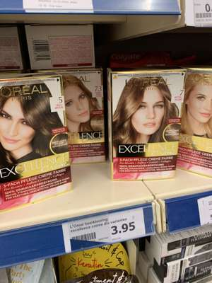 L'oreal excellence haarverf @Action