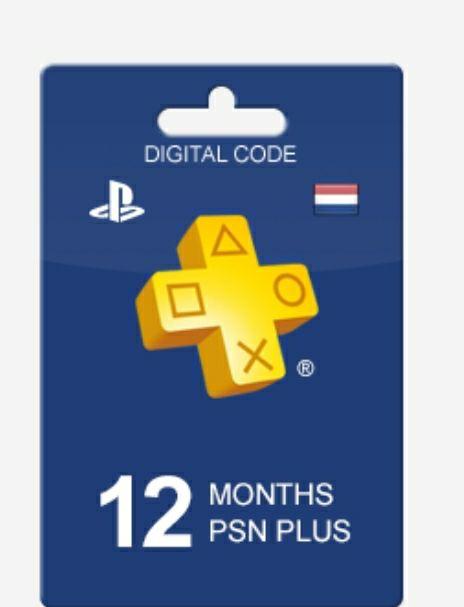 PlayStation Plus 12 maand