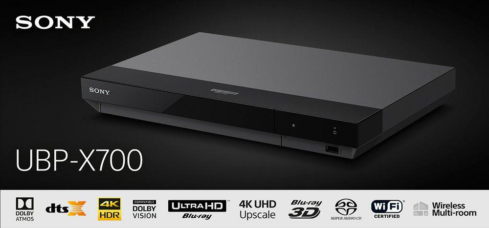 Amazon.de Sony UBP-X700 4K Ultra HD Blu-ray-speler zwart