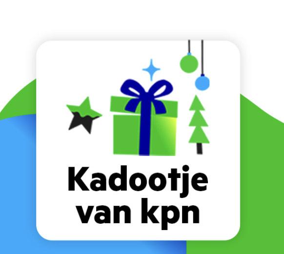 KPN cadeau kalender - bestaande klanten vanaf 11-12