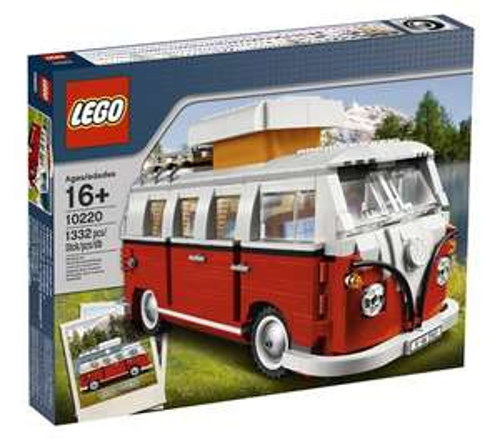 LEGO Creator Expert Volkswagen T1 Kampeerbus (10220)