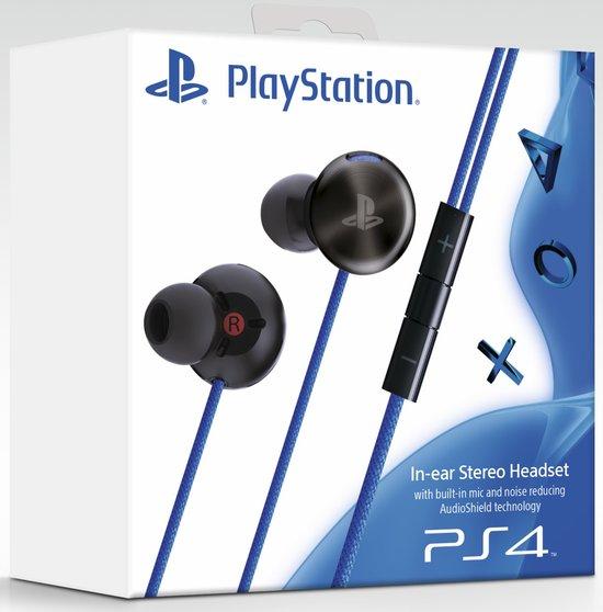Sony In-Ear Stereo Headset PS4 voor €49,99 @Bol.com