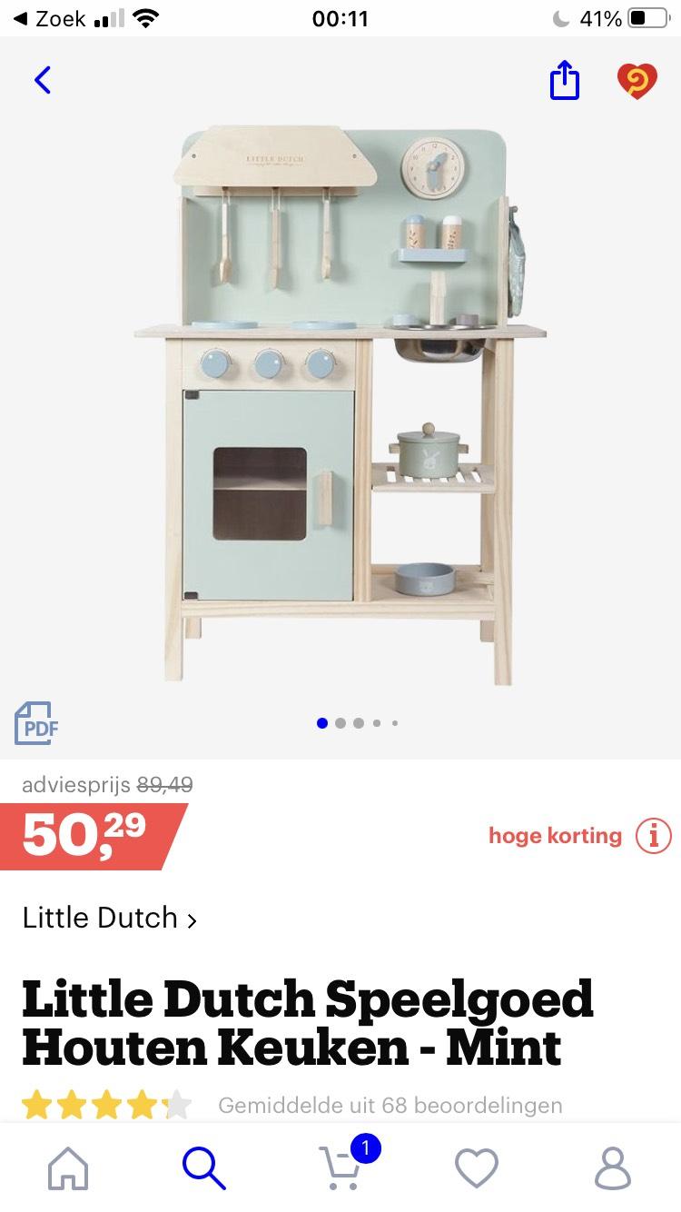 Little Dutch houten keuken
