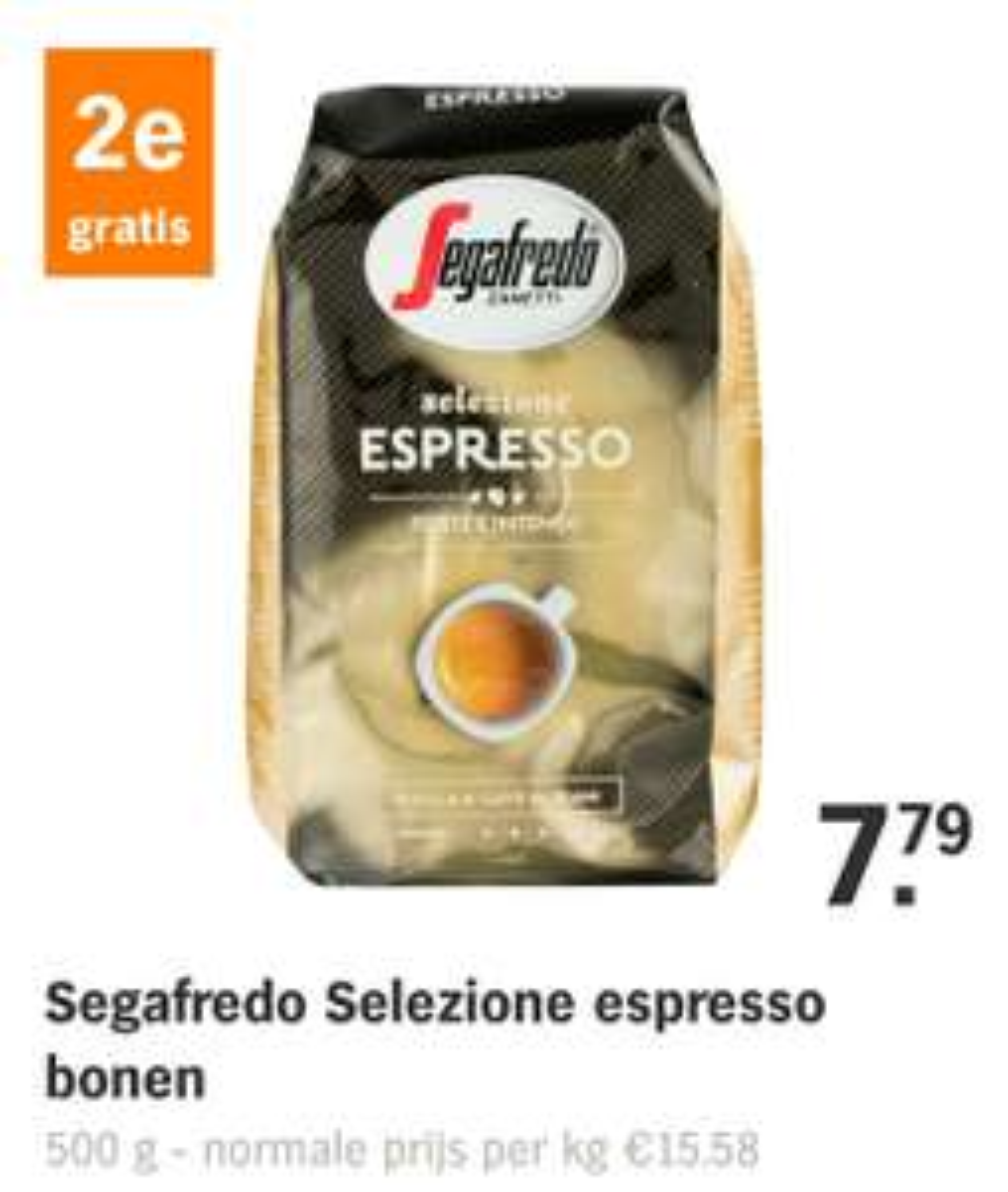 Alle Segafredo koffie 2e gratis bij AH