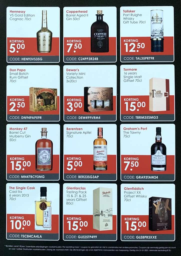 DrankDozijn couponcodes t/m 31-01-2021