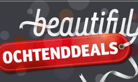 'Beautiful ochtenddeals' bij Kruidvat NL (tot 74% korting en Calvin Klein Be 200ml aan 18€)